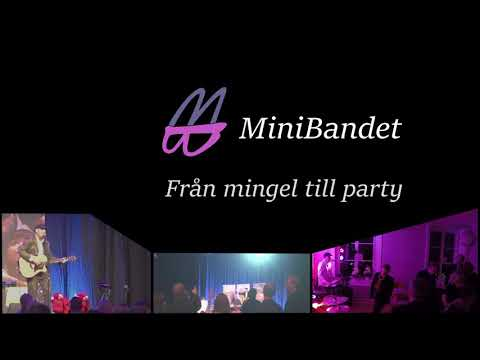 Boka MiniBandet till er fest i Stockholm