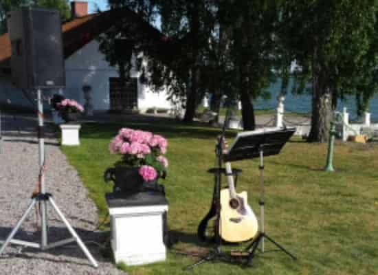 Musik till bröllop Trubadur Stockholm